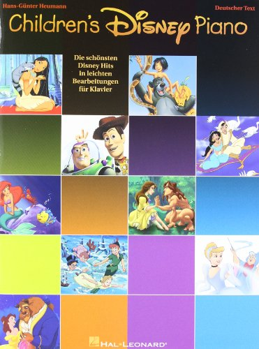 Childrens-Disney-Piano-Die-schnsten-Disney-Hits-in-leichten-Bearbeitungen-fr-Klavier