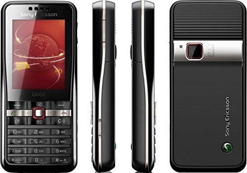 'Sony Ericsson G502Handy?Orange?3G (2-Display, 2MP Kamera, 32MB RAM)?Schwarz
