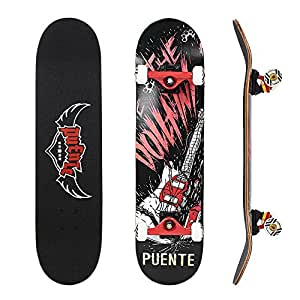 nacatin skateboard komplettboard f r kinder jungendliche. Black Bedroom Furniture Sets. Home Design Ideas