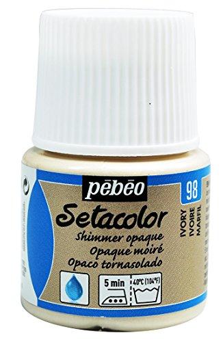 La gama de Pebeo Setacolor consisits de una amplia selección de colores en varios acabados. Son altamente que recubre el material y se puede utilizar para decorar tejidos tanto luz y oscuridad y su textura es particularmente adecuado para uso con un ...