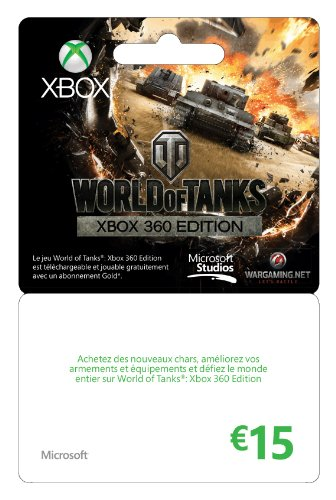 Carte Xbox Live de 15 euros