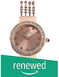 (Renewed) Gio Collection Analog Rose Gold Dial Women's Watch-G2101-55