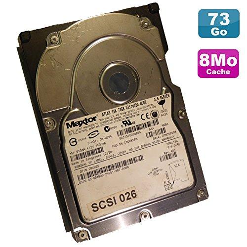 Maxtor Festplatte (73 GB, USCSI Ultra320 SCSI, 3,5 Zoll Atlas 09X925, 15000RPM 80-Pin 8 MB -