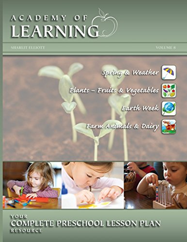 ACADEMY OF LEARNING Your Complete Preschool Lesson Plan Resource - Volume 8