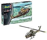 Revell 04956–Modellino di elicottero 1: 72–Bell Ah 1G Cobra in scala 1: 72, Level 4, orgin nachbildung ricche di alghe con molti dettagli, Elicottero -