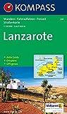 Image of Kompass Karten, Lanzarote: Wandelkaart 1:50 000 (KOMPASS-Wanderkarten, Band 241)