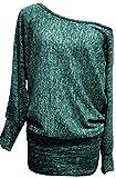 Emma & Giovanni - Tunika - Pullover - Damen (XL/XXL, Grün)