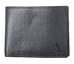 Adamis Leather Black Mens Wallet W263 Black