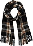 PIECES Damen Schal PCRAKI Long Scarf PB, Mehrfarbig (Black), One Size
