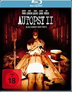 Autopsy II-Black Market Body Parts [Blu-ray] [Import allemand]