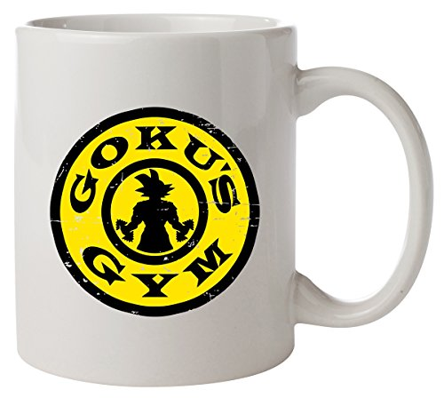 Goku's Gym Dragon Ball Z Golds Gym Parody Kaffeetasse
