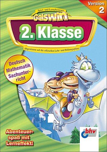 Galswin Version 2, CD-ROMs : 2. Klasse, 1 CD-ROM Deutsch, Mathematik, Sachunterricht. Für Windows...