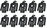 FEBNISCTE 10PCS Bulk Pack Gift Bird Shape 32GB USB 2.0 Thumb Drives - Black