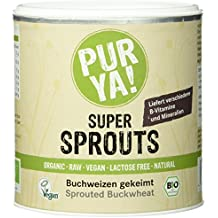 Purya Bio Super Sprouts - Buchweizen gekeimt, 1er Pack (1 x 220 g)
