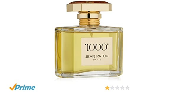 Jean Patou 1000 femmewomen, Eau de Parfum, VaporisateurSpray 75 ml, 1er Pack (1 x 0.268 l)