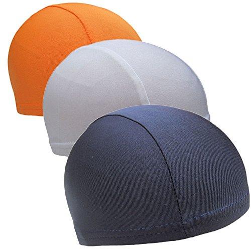 CHRISLZ 3 Stücke Helm Liner Speed Dry Skull Cap Unter Helm Radfahren Kopfbedeckungen Fahrrad Fleece Hut Sport Atmungsaktive Beanie