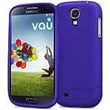 vau Snap Case Slider - matte blue - zweigeteiltes Hard-Case für Samsung Galaxy S4