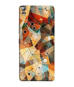 PrintVisa Designer Back Case Cover for Lenovo K3 Note :: Lenovo A7000 Turbo (Antiques Art Beauty Design Canvas Colorful Beautiful Composition)
