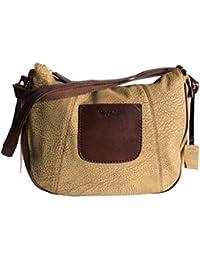 09e6e0be2e2b Naj Oleari Women s Shoulder Bag brown brown One size