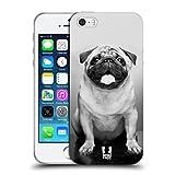 Head Case Designs Carlino Carino Razze Famose Di Cani Cover Morbida In Gel Per iPhone 5 iPhone 5s iPhone SE