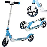 Best Sport Kinder Scooter Mit Abec-7 Scooter, weiß/blau, M, 2307279