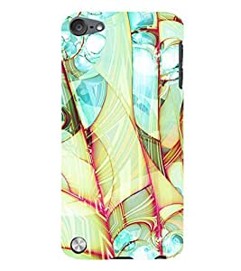 99Sublimation Modern Art Design Pattern 3D Hard Polycarbonate Back Case Cover for Apple iPod Touch 5