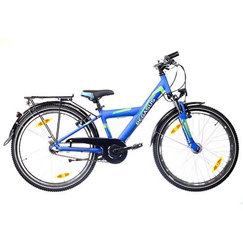 Pegasus Avanti 26' Jungen 3 Gang Kinder Jugend Fahrrad 2018, Rahmenhöhe:38 cm, Farbe:blau