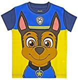 Paw Patrol Boys Girls Official Childrens T-Shirt & Make Your Own Masks