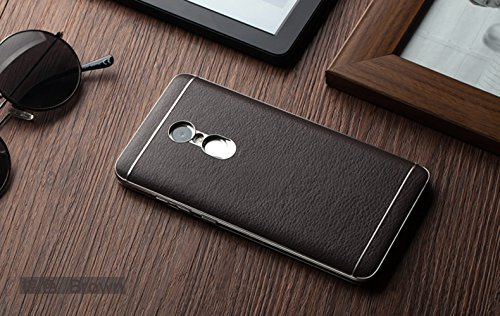3f51751fa 50% OFF on Excelsior Premium Leather Back Cover Case For Xiaomi Redmi Note 4  - Coffee on Amazon