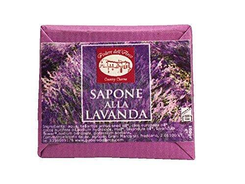 Sapone alla Lavanda con olio di oliva - Naturale fatto a mano - Made in Italy
