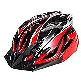Fahrradhelm mit abnehmbare Visier, MTB Fahrrad Helm mit 18 Belüftungskanäle und Kinnschutz Fur Herren Damen - 11 Farben