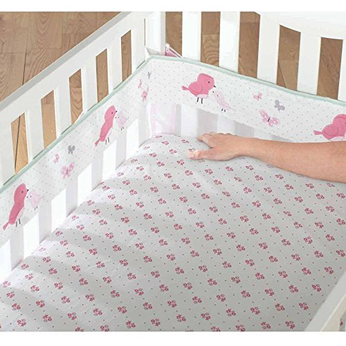 Child of Mine by Carter's Little Birds and Friends Fresh Air Crib Liner by Carter's