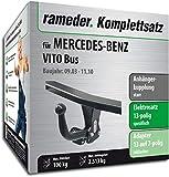 Rameder Komplettsatz, Anhängerkupplung starr + 13pol Elektrik für Mercedes-Benz VITO Bus (121744-05013-3)