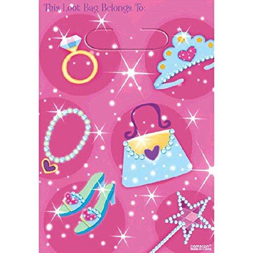 Prismatische Pack (Prinzessin Party Taschen, packung zu 8)