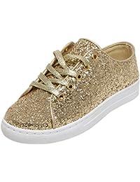 Catwalk Golden Sneakers for Women