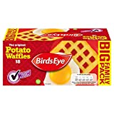 Birds Eye 18 Potato Waffles, 1.02kg (Frozen)