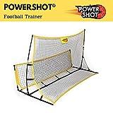 POWERSHOT Rebounder Fußball 2 in 1 und Solo Trainer - Kick Back PRO