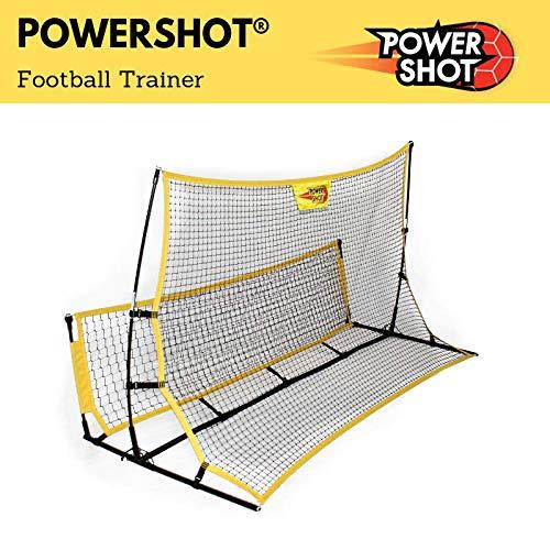 POWERSHOT Rebounder Fußball 2 in 1 und Solo Trainer - Kick Back PRO - Perfekte Trainingshilfen für den Garten für Kinder und Jugendliche (Rebounder 2 in 1)