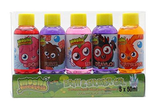 Moshi Monsters Moshi Monsters Confezione Regalo 5 x 50ml Bagnoschiuma & Gel Doccia
