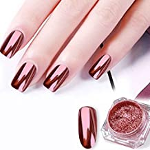Fangfeen Suelta de uñas de Pigmento metálico 3D Cosméticos Paleta 0,2 g de Polvo