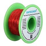 bntechgo 28AWG Magnet Wire–emailierten Kupfer Draht–emailierten Magnet spinndrahtes–4Oz–0cm Durchmesser 1Spule Coil rot Temperatur Bewertung 155Grad C Weithin verwendet für Transformers Millenium