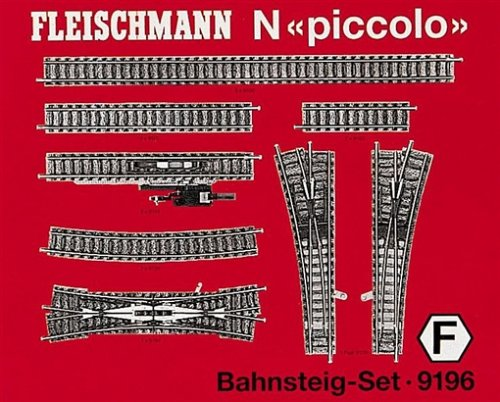 Fleischmann Piccolo 9196 - Bahnsteig - Gleisset N Piccolo