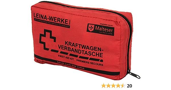 Leina 73602 Verbandtasche Din 13164 Mit Rettungsdecke Kamera