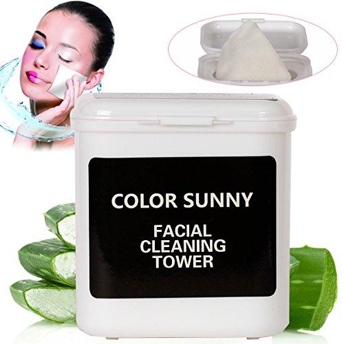 Make-Up Entferner, Abschminken, Augen Make up Remover Pads mit Öl, Entspannter Entladungs Make-up sauber feuchtigkeitsspendend/ Make-Up Entferner Pads, Gründliche Reinigung, Mild nicht zu stimulieren, hypoallergenes Gesicht Reinigungstücher(100 PCS)