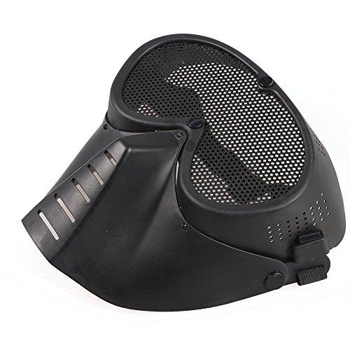 Preisvergleich Produktbild Toparchery Spielmaske Maske Schutzmaske von Kriegsspiel/Paintball/Softair/Jagen/militaerische Zwecke