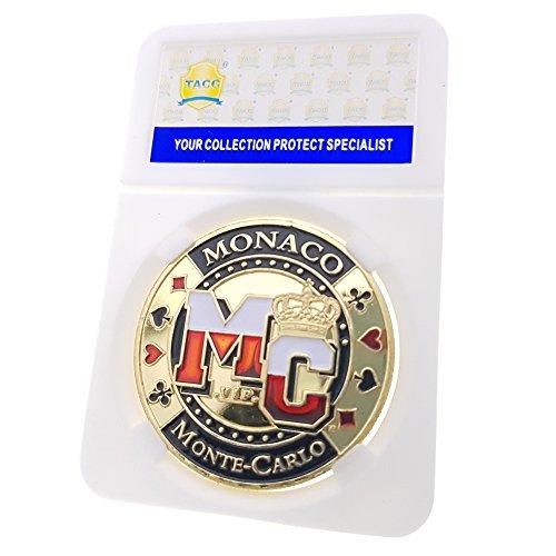 TACC Sammlermünzen Souvenir-Medaille Monte Goldmünze Carlo Monaco Las Vegas