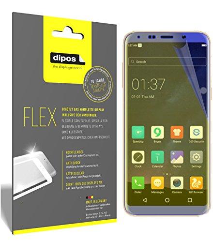 dipos I 3X Schutzfolie 100% passend für BLUBOO S8 Folie (Vollständige Bildschirmabdeckung) Bildschirmschutzfolie