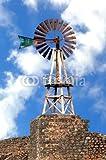 Wunschmotiv: vue d'un moulin à vent à Lanzarote #49483034