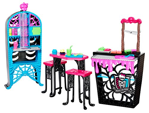 Monster High Social Spots - Creepateria Playset - Doll Accessory Toy