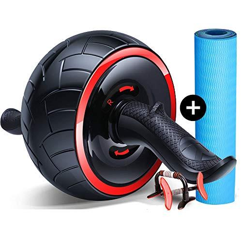Bauchmuskeln Rad Automatische Rebound Fitness Geräte Bauch Fettverbrennung Thin Magen dünnen Taillen-Anfänger Damen Herren Startseite Abdominal Rad